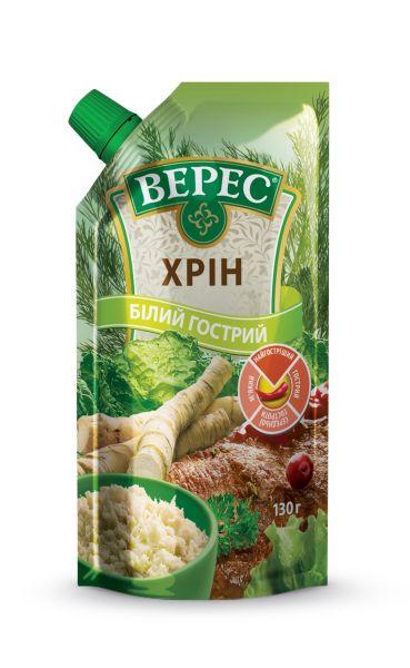 Хрін Білий гострий ТМ Верес д/п 0,130 кг