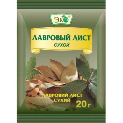 Лавровий лист мелений ТМ Еко, 0,020 кг