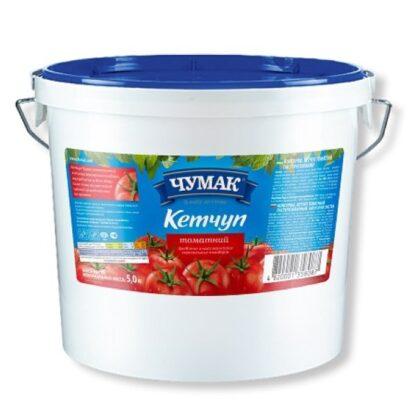 Кетчуп Томатний ТМ ЧУМАК відро 5 кг