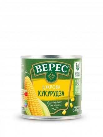Кукурудза цукрова ВЕРЕС ж/б 0,340 кг, пак