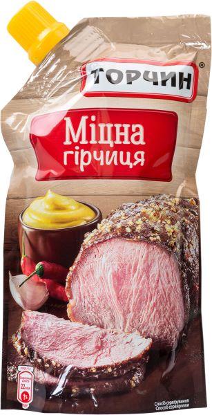 Гірчиця Міцна ТМ Торчин д/п 0,130 кг
