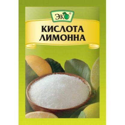 Лимонна кислота ТМ Еко, 0,025 кг
