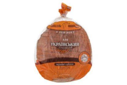 Хліб український наріз. скибк. в упак. 0,95 кг, шт