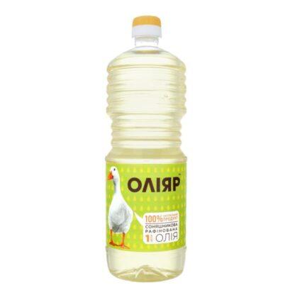 Олія соняшникова рафінована ТМ Оліяр 1л