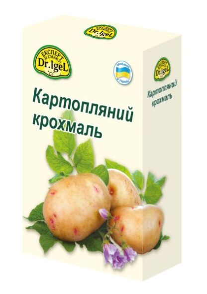 Крохмаль картопляний 1 кг TM Dr. Igel, шт