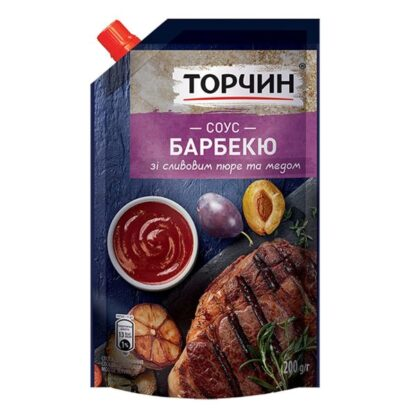 Соус Барбекю ТМ Торчин д/п 0,200 кг