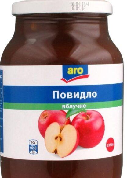 Повидло Aro яблучне 1,350 кг, шт