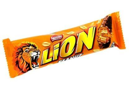 Батончик LION арахіс 40 г