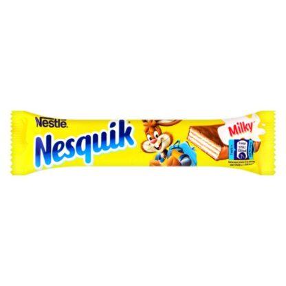 Вафлі Nesquik в молочному шоколаді 26 г