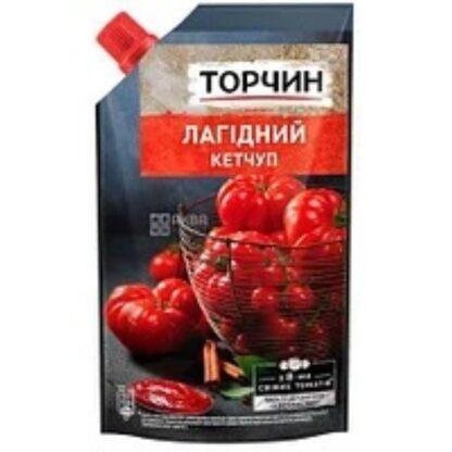 Кетчуп Лагідний ТМ Торчин д/п 0,270 кг