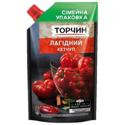 Кетчуп Лагідний ТМ Торчин д/п 0,540 кг
