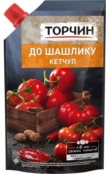Кетчуп До шашлику ТМ Торчин д/п 0,270 кг