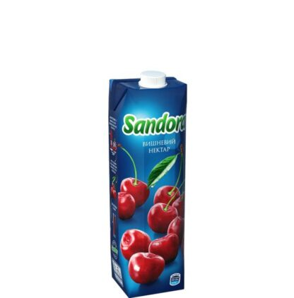 Сік Sandora вишневий 0,950 л, пак