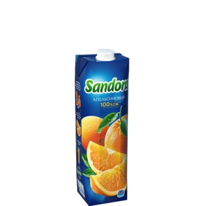 Сік Sandora апельсин 0,950 л, пак