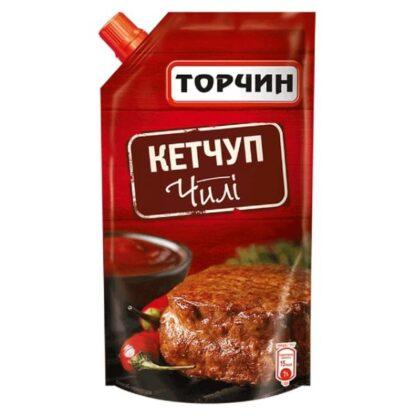 Кетчуп Чілі ТМ Торчин д/п 0,270 кг