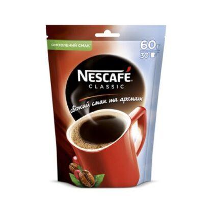 Кава НЕСКАФЕ Классік розчинна д/п 0,060 кг