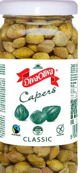Каперси ТМ Diva Oliva 0,240 кг / 0,140 кг, шт