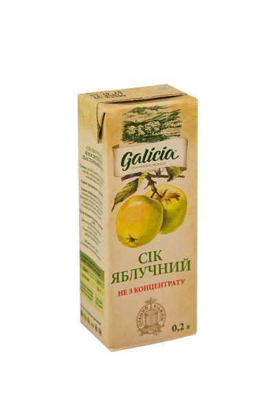 Сік Галіція яблучний т/п 0,2 л