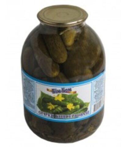 Огірки мариновані ТМ Бім-Бом, 1 кг