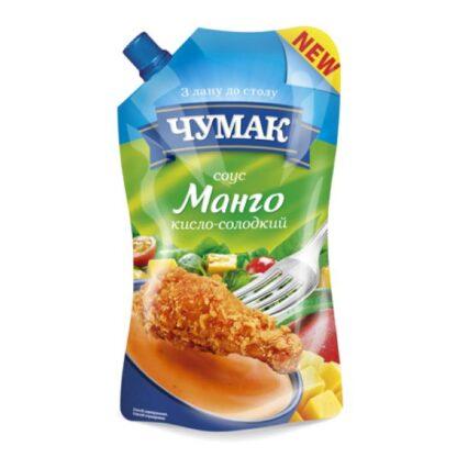 Соус Манго кисло-солодкий ЧУМАК д/п 0,200 кг