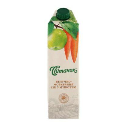 Сік Світанок яблучно-морквяний TGA 0,95 л