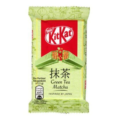 Кіт Кат з зеленим чаєм у білому шоколаді 41,5 г