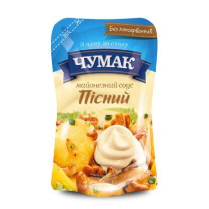 Майонезний соус пісний 30% ТМ ЧУМАК д/п 0,350 кг