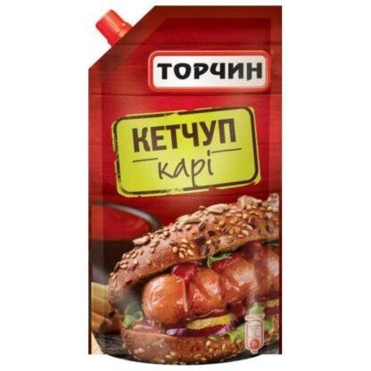 Кетчуп Карі ТМ Торчин д/п 0,250 кг