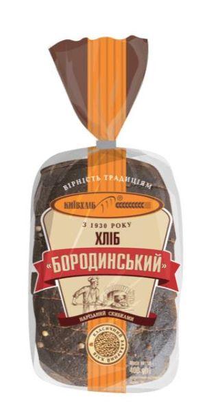 Хліб Бородинський нарізний КИЇВХЛІБ 0,400 кг