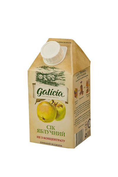 Сік Галіція яблучний TGA 0,5 л
