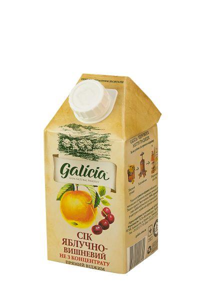 Сік Галіція яблучно-вишневий TGA 0,5 л