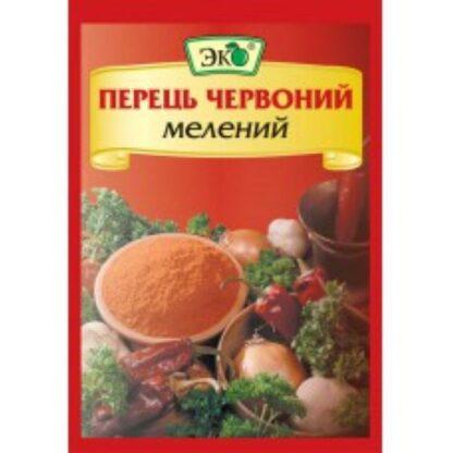 Перець червоний мелений ТМ ЮНА 0,020 кг