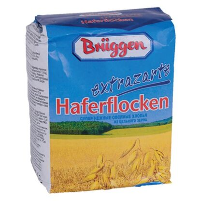 Пластівці вівсяні Bruggen Haferflocken Extrazarte 0,5кг, пак