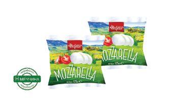 Сир Моцарелла PERFETTO 0,125 кг, пак