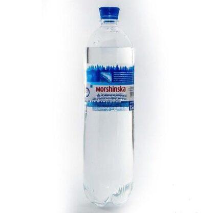 Вода мінеральна Моршинська сильногазована ПЕТ 1.500 л., пак