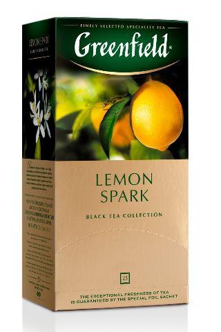 Чай Greenfield чорний Lemon Spark 25шт*1.5г 0.037 кг, пак