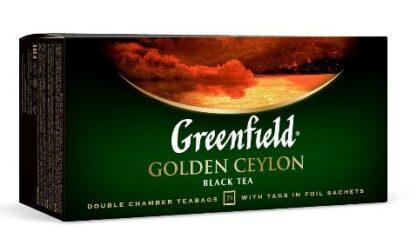 Чай Greenfield чорний Golden Ceylon 25шт*2г 0.050 кг, пак