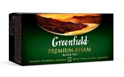 Чай Greenfield чорний Premium Assam 25шт*2г 0.050 кг, пак