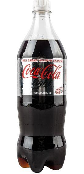 Напій Coca-Cola газований Light ПЕТ 1.000 л., пак