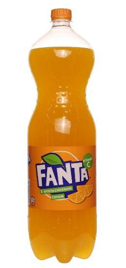 Напій Fanta апельсиновий ПЕТ 2.000 л., пак