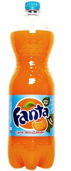 Напій Fanta мандариновий ПЕТ 1.500 л., пак