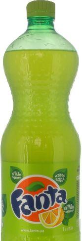 Напій Fanta лимон ПЕТ 1.000 л., пак