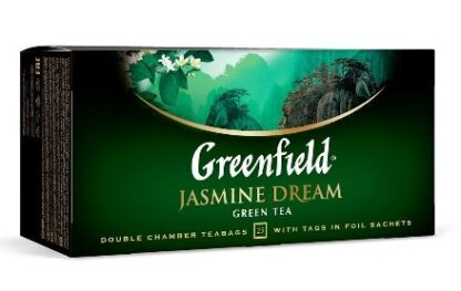 Чай Greenfield зелений Jasmine Dream 25шт*2г 0.050 кг, пак