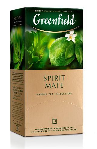 Чай Greenfield трав'яний Spirit Mate 25шт*1.5г 0.037 кг, пак