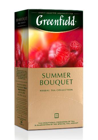Чай Greenfield трав'яний Summer Bouquet 25шт*2г 0.050 кг, пак