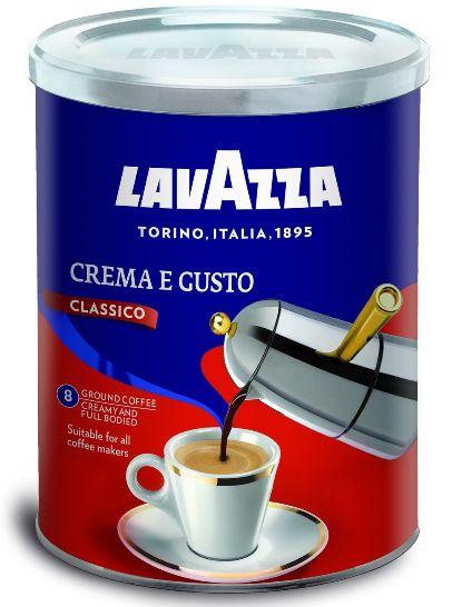 Кава Lavazza мелена Crema e Gusto ж/б 0.250 кг, пак