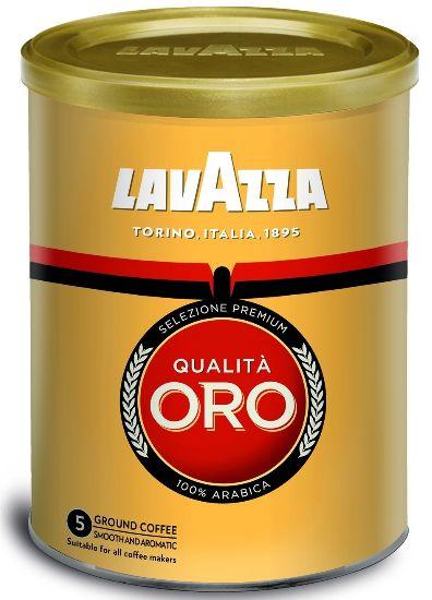 Кава Lavazza мелена Qualita ORO 100% ARABICA ж/б 0.250 кг, пак