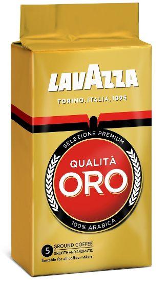 Кава Lavazza мелена Qualita ORO 100% ARABICA в/у 0.250 кг, пак