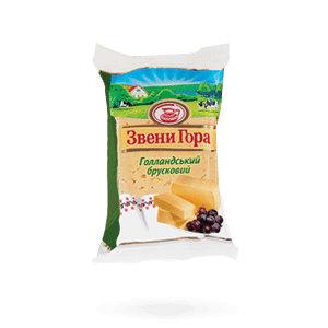 Сир Звени Гора Голландський брусковий 45% 0.200 кг, пак