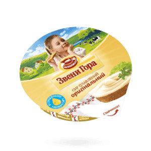 Сир плавлений кремовий Звени Гора оригінальний 0.090 кг, пак